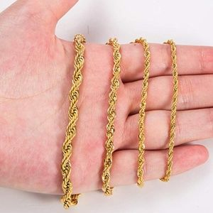 Jewelry - 18k Gold Chain Four sizes!! 50% OFF!!